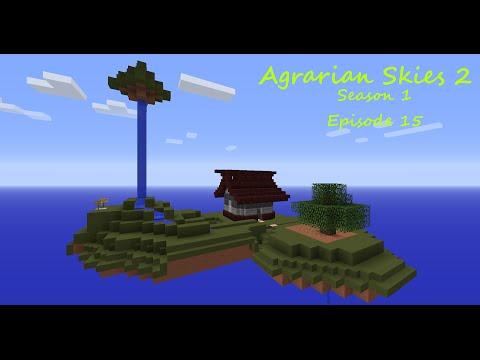 Agrarian Skies 2 S01E15 - AE2 Auto Ore Processing PT1 - Modded Minecraft Skyblock