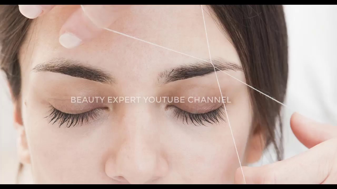 Perfect Eyebrows Threading Part 3 Youtube