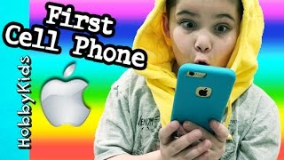 Hobbypig Buys First Cell Phone Apple Store Iphone Family Fun Vlog Hobbykidsvids