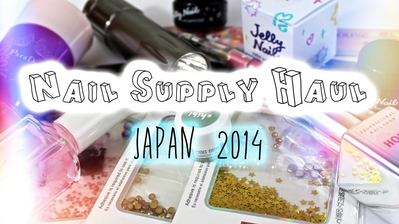 Nail Supply Haul Japan 2014 | LED Lamp, Gels, Gem Pick Upper ...