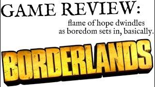 Borderlands review (Skyrim Nightmare intro)