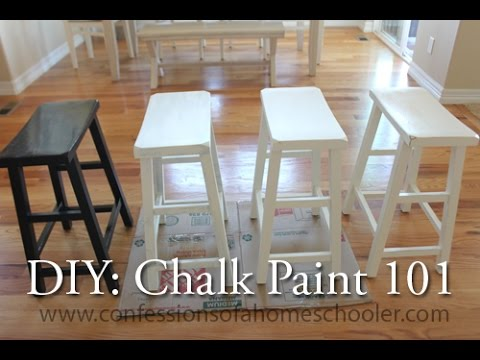 DIY: Chalk Paint 101