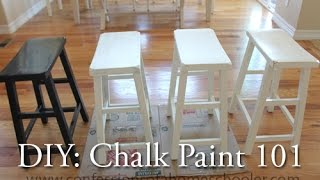 DIY: Chalk Paint 101