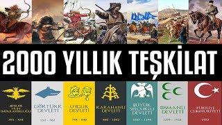 Türklerin 2000 Yıllık Gizli TEŞKİLATI (2.BÖLÜM)