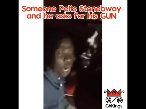 Stonebwoy gets Stoned and asks for GUN at Ashaiman