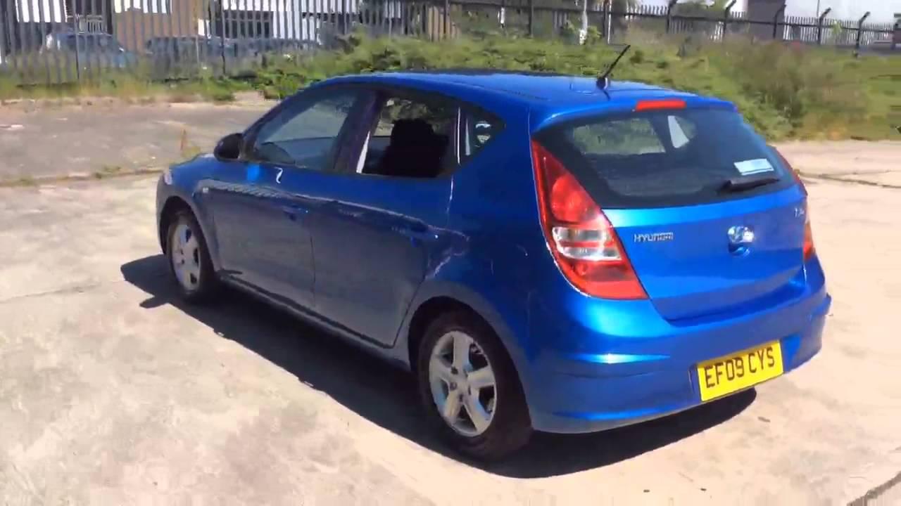 Hyundai I30 Comfort Blue 2009