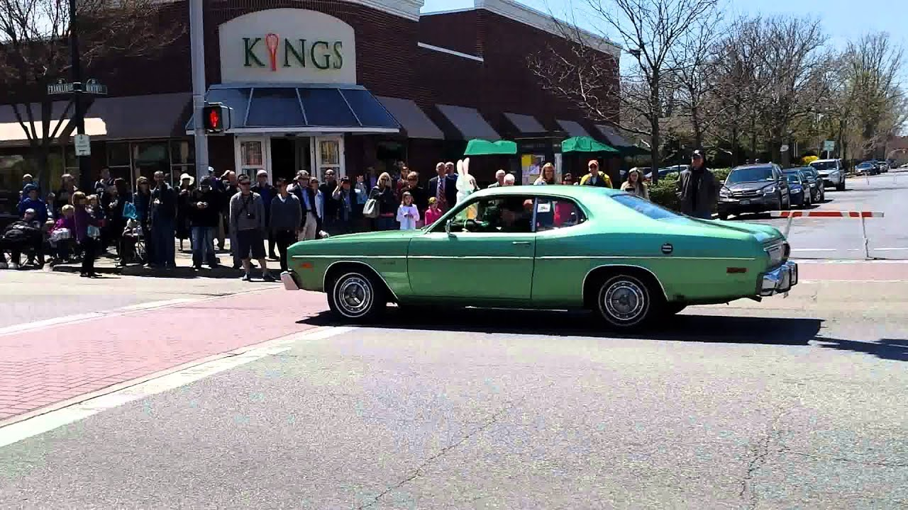 Easter Sunday Car Show in Garden City Long Island NY