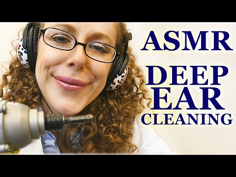 Binaural ASMR Ear Cleaning Role Play, Exam, Whisper, Cupping, Blowing, Brushing
