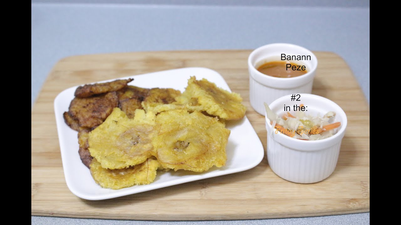 Love For Haitian Food - Episode 33 - How to make Banann ...