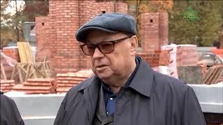 Владимир Ресин проинспектировал строительство храма на пересечении улиц Каховка и Азовская