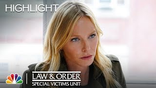 Rollins Opens Up to Carisi About Losing Her Way - Law amp Order SVU