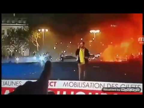 "Snipers Fire At French Citizens During ""Yellow Vest"" Protests"