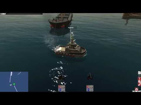 Euro Ship Simulator #ro ep.1 Tug mission