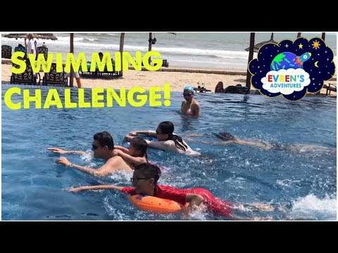 swimming-challenge!-kid-fun-game-challenge-surprise-toys-unboxing-evren-family-review