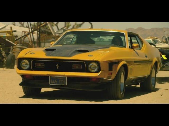71 Mustang Mach 1 In Bounty You