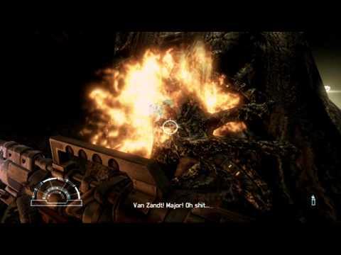 Aliens vs Predator 3 Walkthrough Part 2 Marine Nightmare mission 2 Max Detail HD