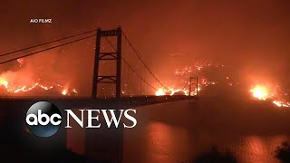 ABC News Live Update: Wildfires claim lives and raze thousands of homes in the West