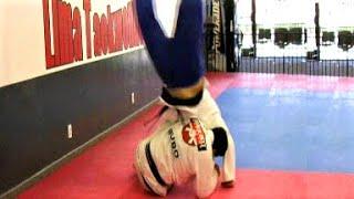 Brazilian Jiu Jitsu Ricco Rodriguez and John Machado Training (2007)