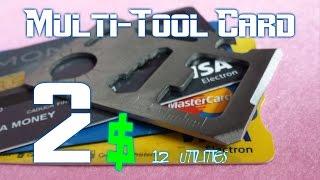Interesting tool nº1- multi-tool card  (12 multipurpose)