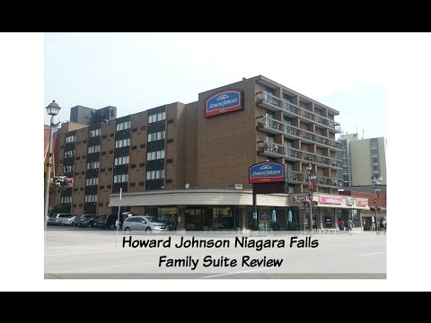 Niagara Falls Howard Johnson Hotel Review - Family Suite