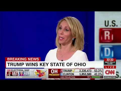 DONALD TRUMP WINS OHIO  CNN PROJECTS :  YOUTUBE