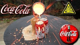 Molten Copper vs Coca Cola