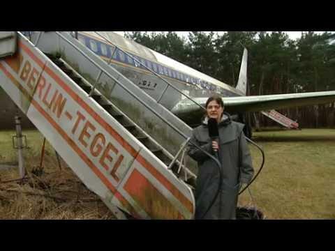 Was hat es mit der Boeing 707 an der Landebahn des Flughafens Tegel auf sich?