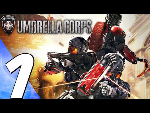Resident Evil Umbrella Corps (PS4) - Gameplay Walkthrough Part 1 - Prologue & Review (Full Game)
