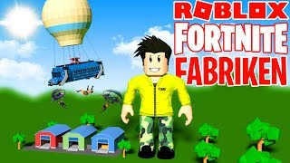 OWN FORTNITE FACTORY IN ROBLOX
