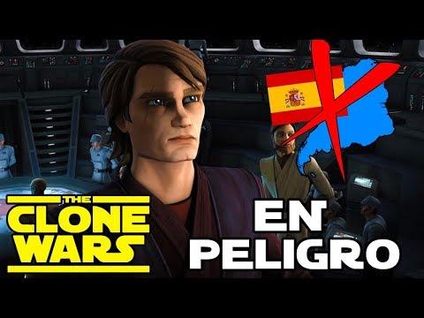 THE CLONE WARS en PELIGRO para España y Sudamérica - Star Wars