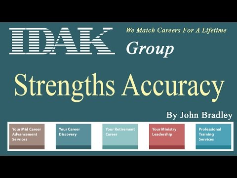 How accurate is one's self perception about his/her aptitude strengths?