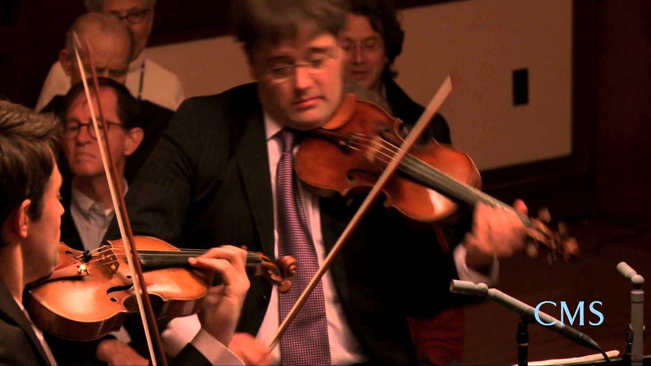 Beethoven - Quartet in A minor for Strings, Op. 132, Mvt 4 and 5 - Escher String Quartet - CMS