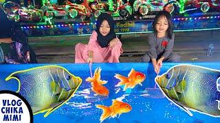 Bermain Menangkap Ikan di Pasar Malam - Vlog Sebelum Pandemik Covid19