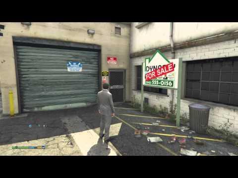 GTA V - Michael buying a garage (Vehicle Storage property)