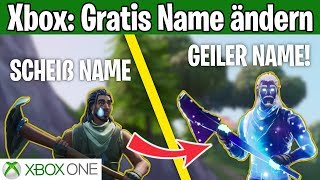 Xbox: Change Fortnite name for FREE (Change Xbox one Gamertag for free)