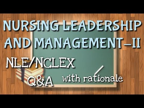 NLE/NCLEX Practice Test || Leadership And Management Part 2 ||