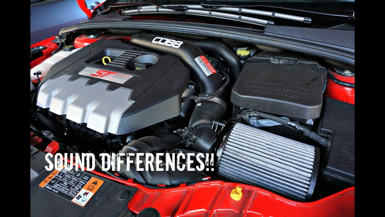Ford Focus St Cold Air Intake >> Focus St Stock Filter Vs Cobb Hi Flo Filter Vs Cobb Cold Air Intake
