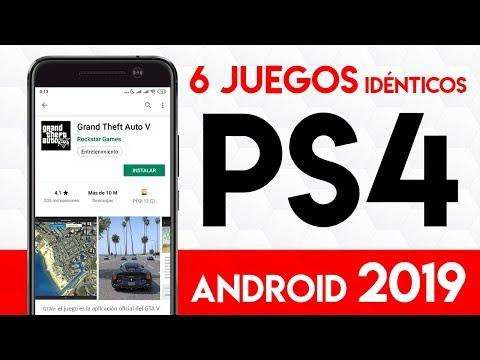 6 JUEGOS de PLAYSTATION 4 ¡GRATIS! para ANDROID   Mejores COPIAS de PS4 en TELÉFONOS CELULARES 2019