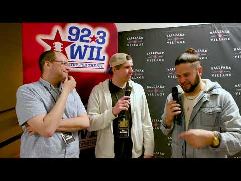 92.3 WIL interview with Filmore at Hot Country Nights