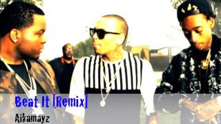 "Sean Kingston/Chris Brown & Wiz Khalifa - ""Beat It"" [REMIX] - Aikamayz"