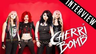 Cherri Bomb (2012) Interview: Girl Talk and Spongebob [Warped Tour 2012]