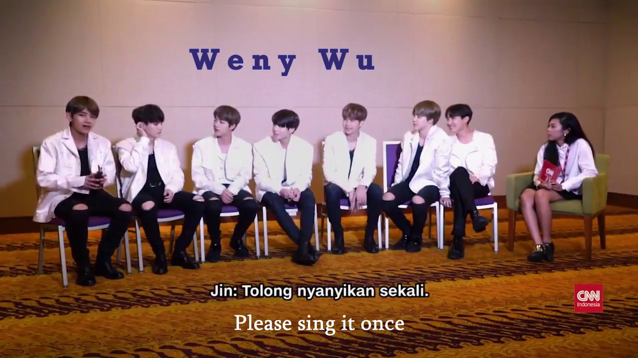 ENG SUB - BTS INTERVIEW WITH CNN INDONESIA IN JAKARTA PART ...