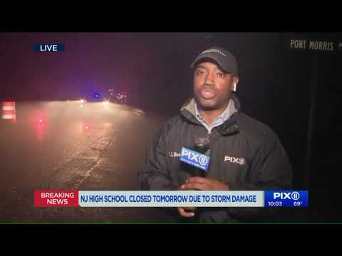 Borasio - Possible Tornado Closes Lenape Valley H.S. - more damage reported.