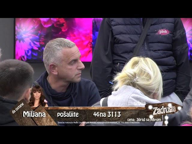 Zadruga 3 - Natalija se obračunava sa Ivanom Gavrilovićem - 15.09.2019.