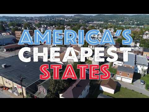 The CHEAPEST STATES To Live In AMERICA