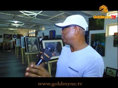 GOLDMYNETV: LAGOS ART EXHIBITION FAIR 2015