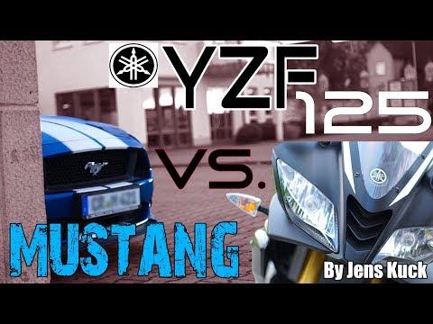 Yamaha YZF 125 // Ford Mustang 421PS // Jens Kuck