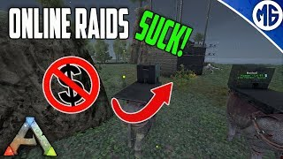 THIS IS WHY I HATE ONLINE RAIDING! Small Tribe Servers Official PvP Ep 11 - Ark: Survival Evolved