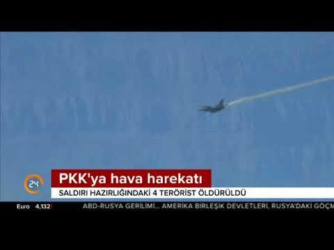 TSK'dan PKK'ya hava harekatı açıklaması: Saldırı hazırlığındaki 4 terörist öldürüldü