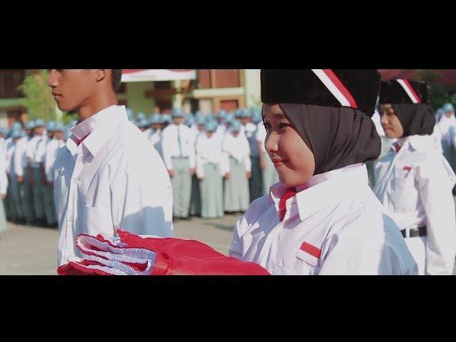 Upacara 17 Agustus 2018 SMKN 1 Banjarbaru (Dirgahayu Republik Indonesia ke - 73)